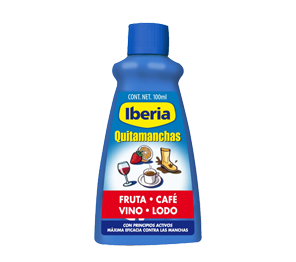 Iberia stain remover - fruit, wine, coffee, mud