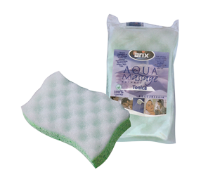 Bath sponge Tonica cellulose, with massage