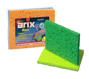 Cellulose sponge cloths extra absorbent, 2 pcs Duo