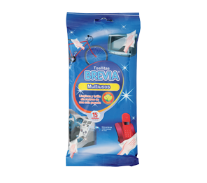 Brevia wet cleaning wipes - Multipurpose