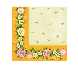 Aha mini decorated napkins 24*24 cm 3-ply