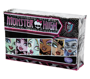 Decorated handkerchiefs, balsam - Monster High