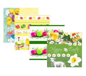 Aha Easter design napkins 3-ply 100% cellulose
