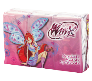 Decorated handkerchiefs, balsam - Winx