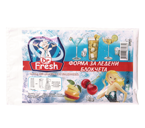 Dr. Fresh ice cube bags