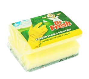 Dr. Fresh kitchen sponge with grip 1 pc